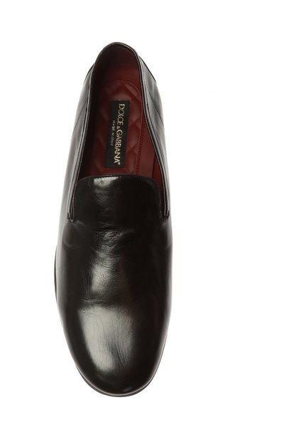 BLACK Loafers with logo | Dolce & Gabbana | Loafers