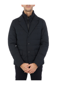 Commuting 2-in-1 quilted blazer