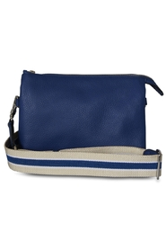Abro - Adria Crossover with Striped Strap - Royal Blue