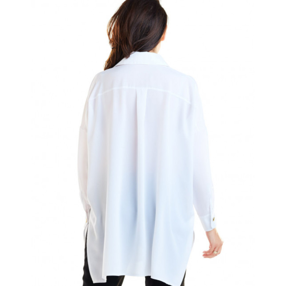 biały Koszula | Awama | Bluzki - Najnowsza zniżka xvslg