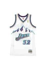 NBA Swingman Jersey Karl Malone No32 1996/97 Home Utajaz Tank Top