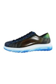 LACE-UP SPORT CALF WORKED RUBBER SOLE