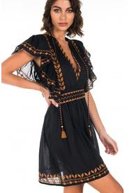 Ethnic embroidered dress