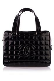 Pre-owned Bowler Quilted Patent Bag