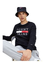 TOMMY JEANS DM0DM07413 ESSENTIAL CREW SWEATER Men Tommy black