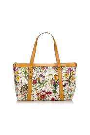 Flora Canvas Abbey Tote Bag