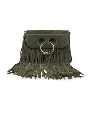 MEDIUM PIERCE SUEDE FRINGE BAG