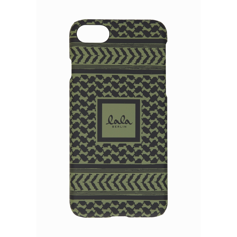 Grøn Lala Berlin Iphone8 Kufiya Cypress Cover