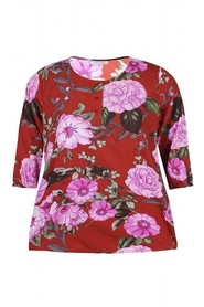 Bluse Lise Wild Aster