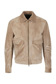 Jacket with four pockets