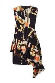 Jay Big Ruffle Mini Dress