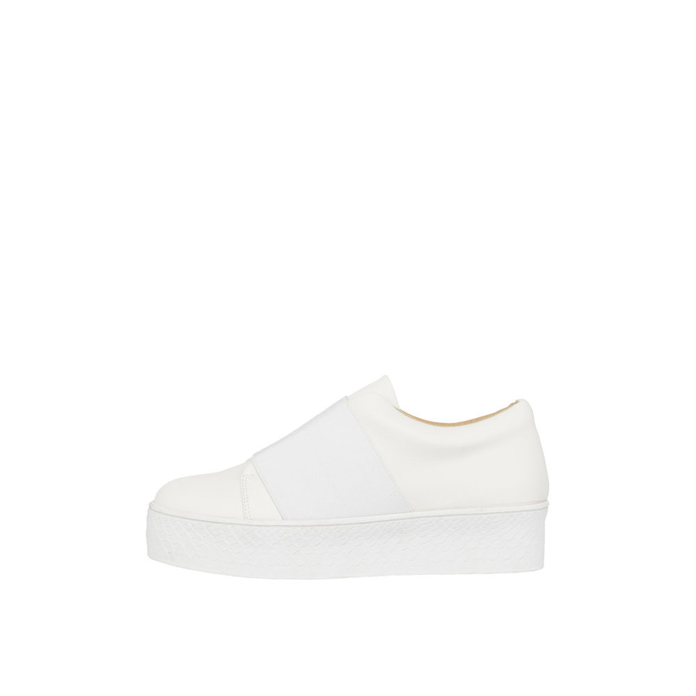 Sneakers Leather Flatform