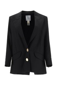 Wool Jacket With Jewel Buttons