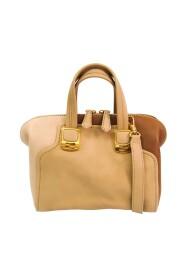 pre-owned Chameleon Mini 8BL117 Leather Shoulder Bag
