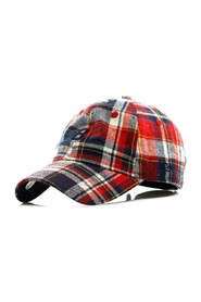 CAPPELLO VISIERA CURVA SPRING PLAID 940 COOPERSTOWN COLLECTION BRODOD