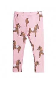 Horse pink leggings