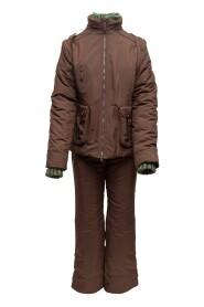 Snow Suit & Knit Beanie Set