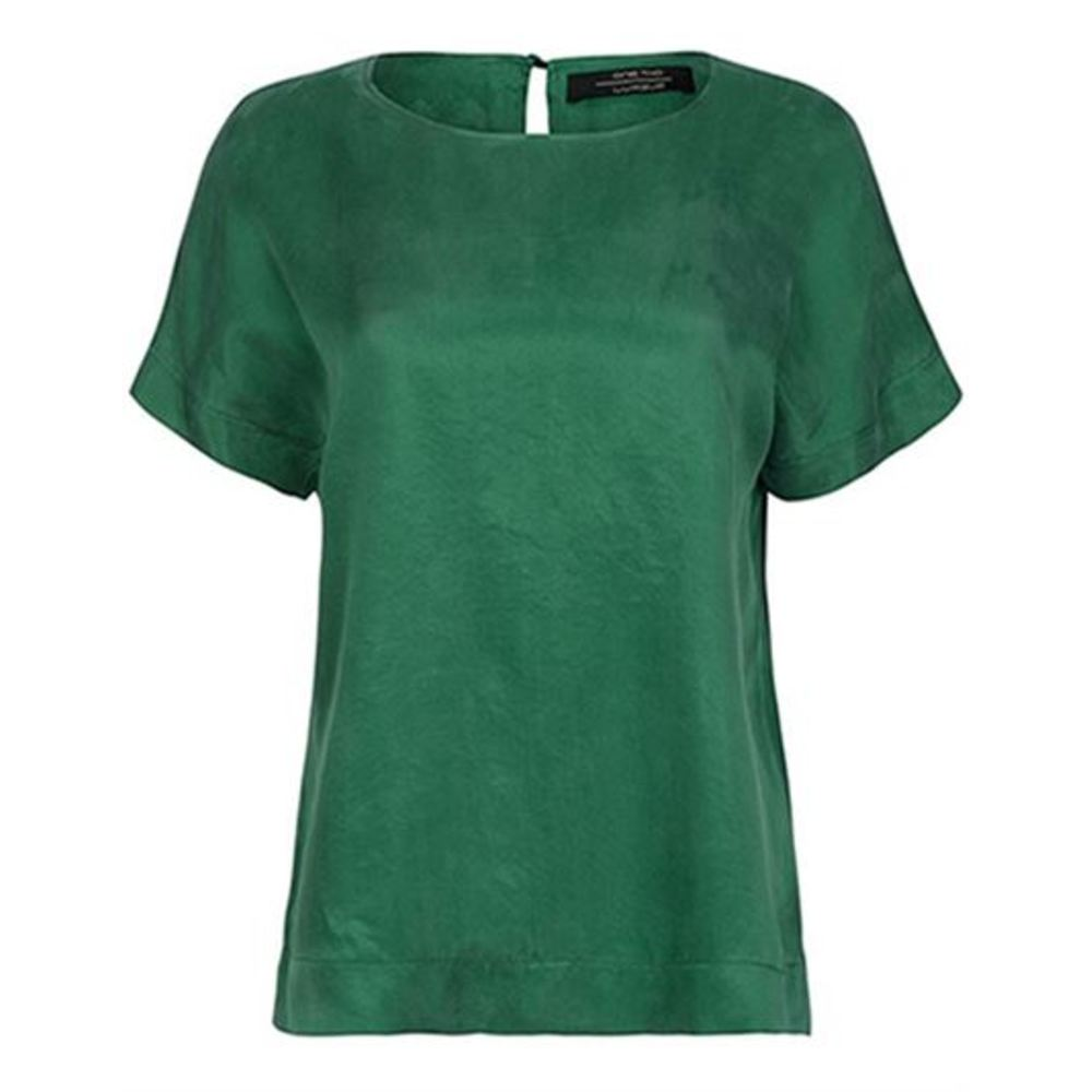 Green Brunhild Bluse  One Two Luxzuz  Bluser