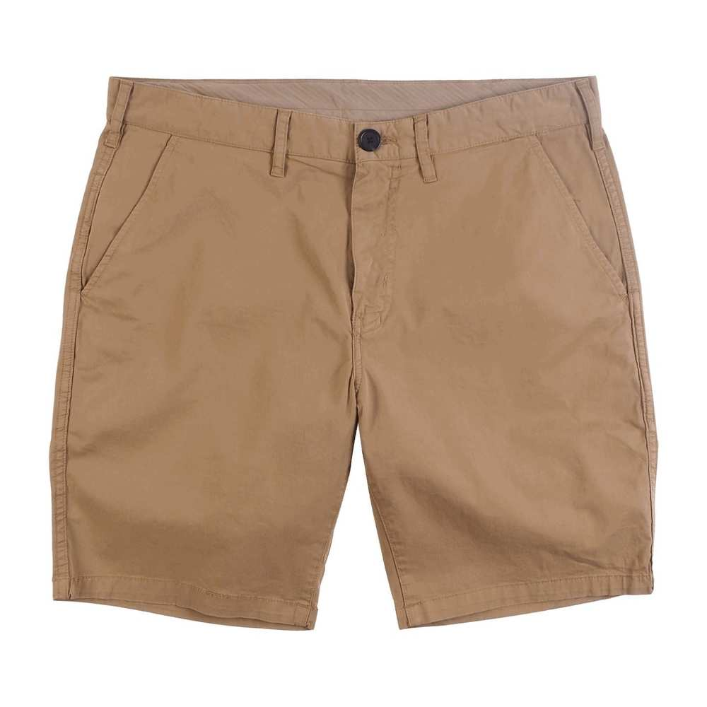 Sand-Stretch-Shorts aus Pima-Baumwolle