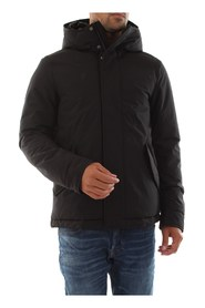WOOLRICH PENN-RICH WYCPS0562 SHORT PARKA JACKET AND JACKETS Men BLACK