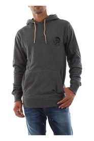 DIESEL 00CEMD 0CAND BRANDON SWEATER LONGWEAR Men MID GREY