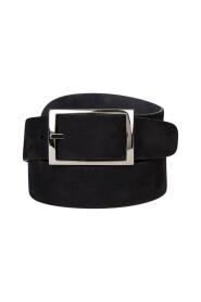 Reversible suede belt