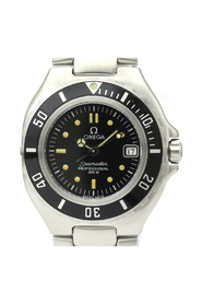Pre-owned Seamaster Quartz Stainless Steel Sports Watch 2880.50