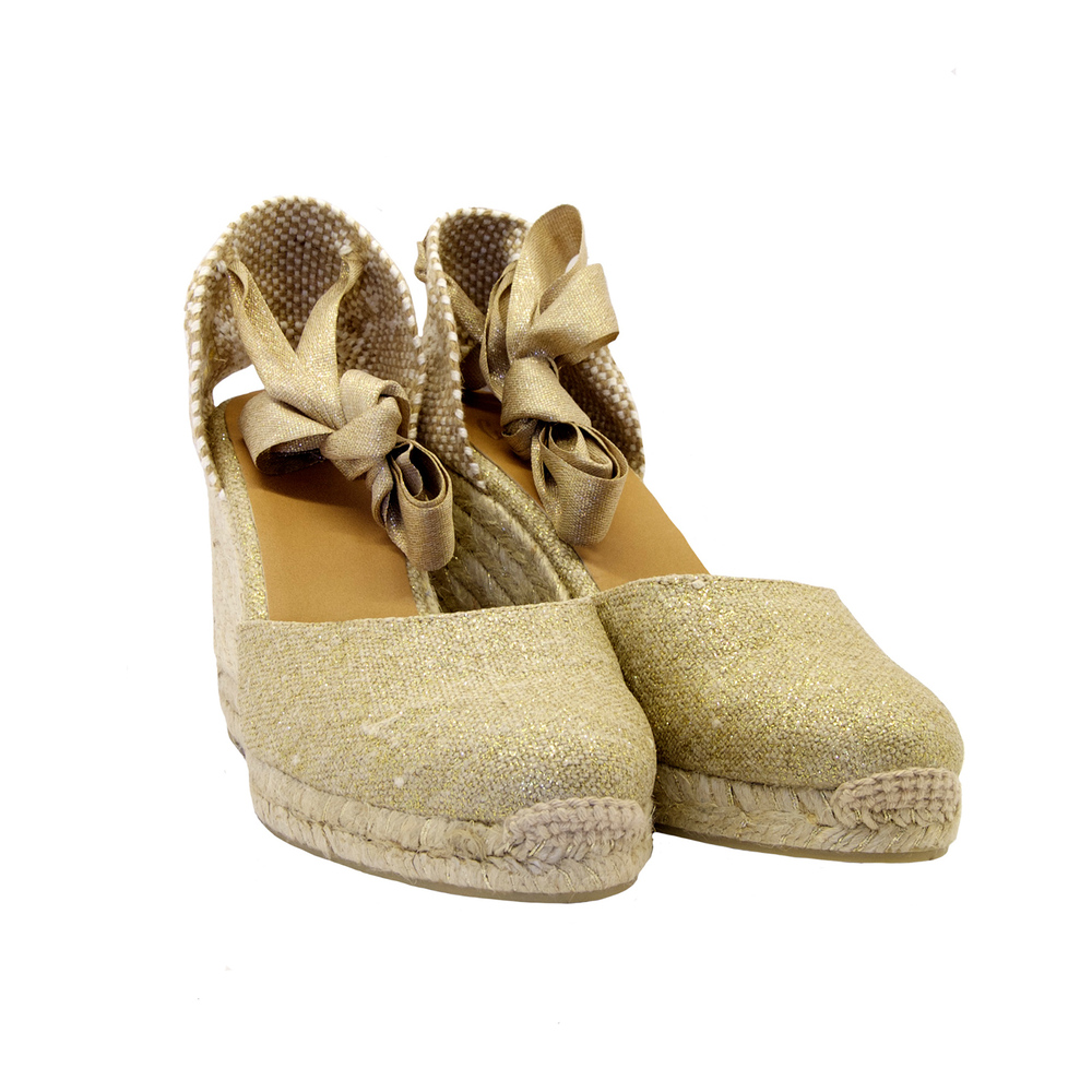 Beige CAMPESINA CANVAS | Castañer | High Heel Sandals | Women's shoes