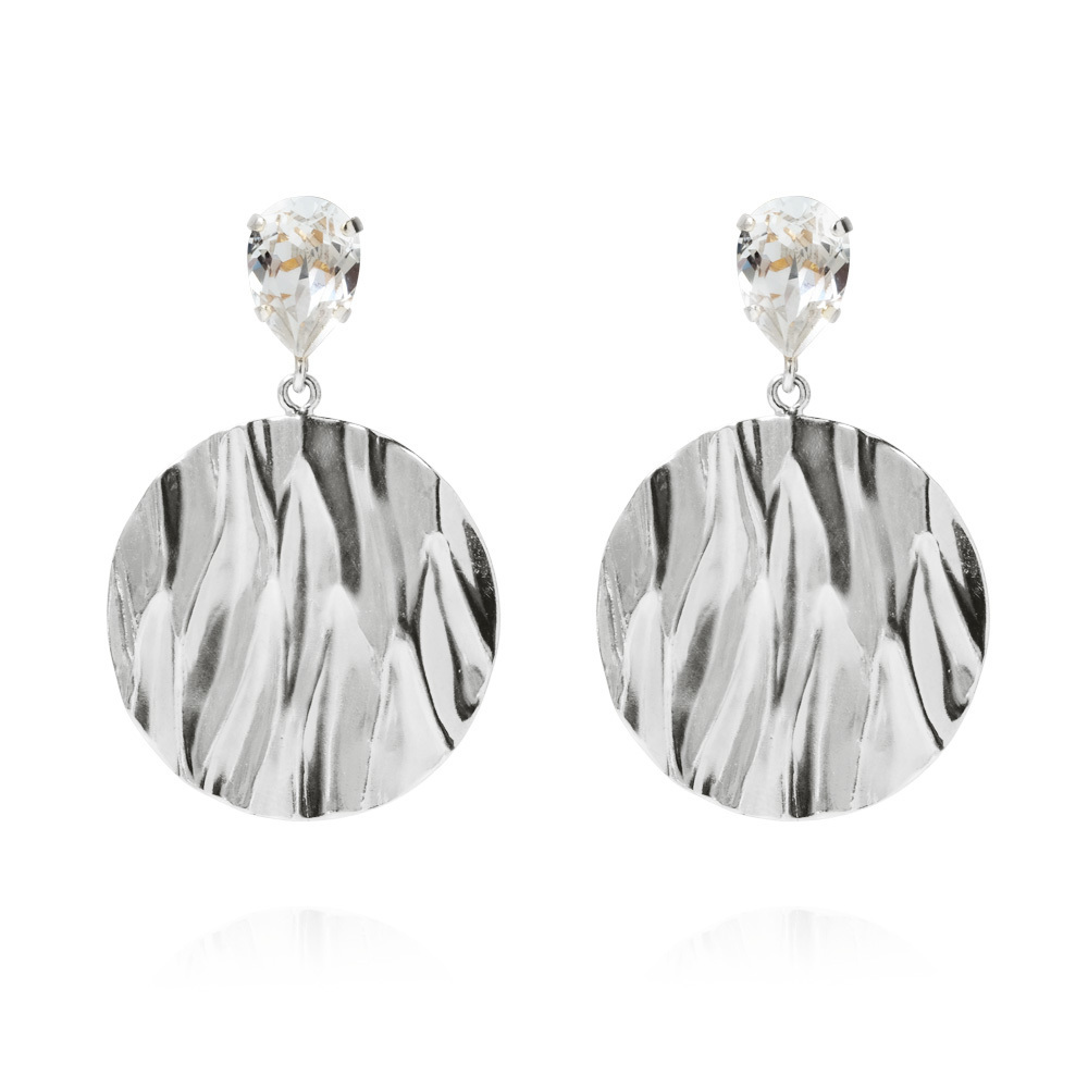 Anemone earrings silver - Caroline svedbom