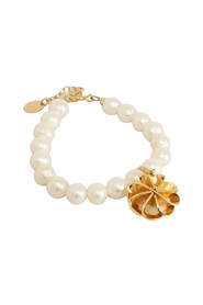 Vérone bracelet with cultured pearls and charms