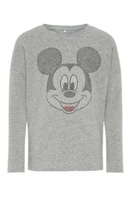 T-shirt long-sleeved mickey mouse
