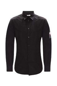 Shirt with patch