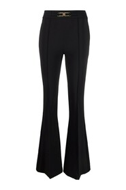 CLAMP FLARED TROUSERS