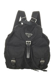 Pre-owned Tessuto Drawstring Backpack Fabric