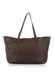 Pre-owned Bamboo Leather Tote