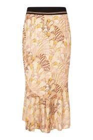 Skirt Midi Art Deco Print