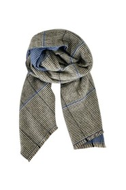 Jannie check scarf