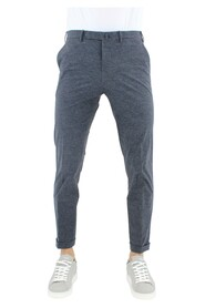 Super stretch technical fabric trousers