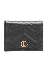 GG Marmont Matelasse Leather Small Wallet
