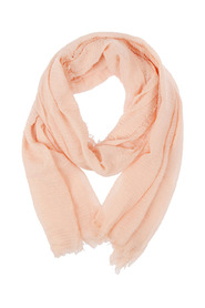 Fray Crinkled Scarf Light Apricot