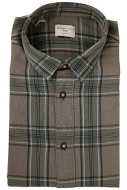Oliven selected Homme Shadow Shirt Check Skjorte