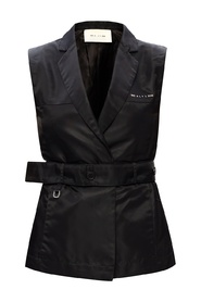 Vest with notch lapels