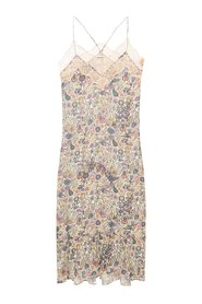 Patterned slip dress