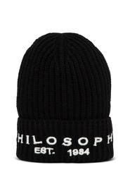 Wool Blend Hat with Logo