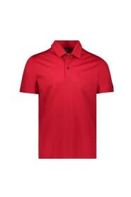 Piqué polo shirt with pocket