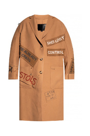 Patched coat