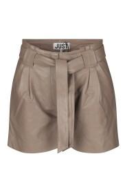 Nago leather shorts