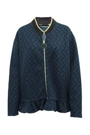 Printed Jacket With Zipper