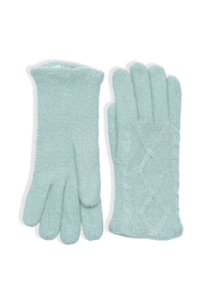 Sadie Lime Wool Gloves