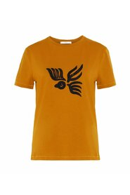 T-shirt Bird Embroidered